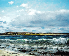 Commission Paintings - Bay at the Back of the Ocean, Iona