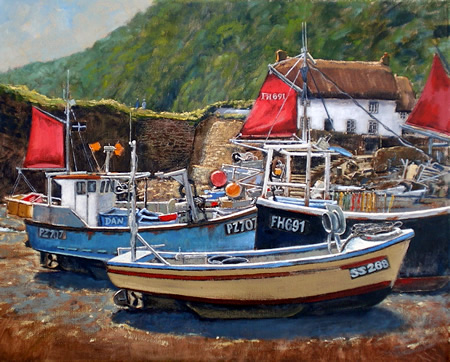 Bright Day, Cadgwith