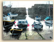 Painting of Serene Light at Mousehole in Cornwall