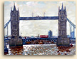 Painting of Tower Bridge in London