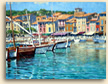 Painting of The Harbour, Cassis
