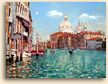Painting of Grand Reflections Venice