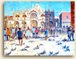 Painting of Saint Mark's Square Venice